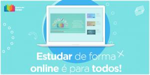 Quero me formar - Estudar de forma online é para todos